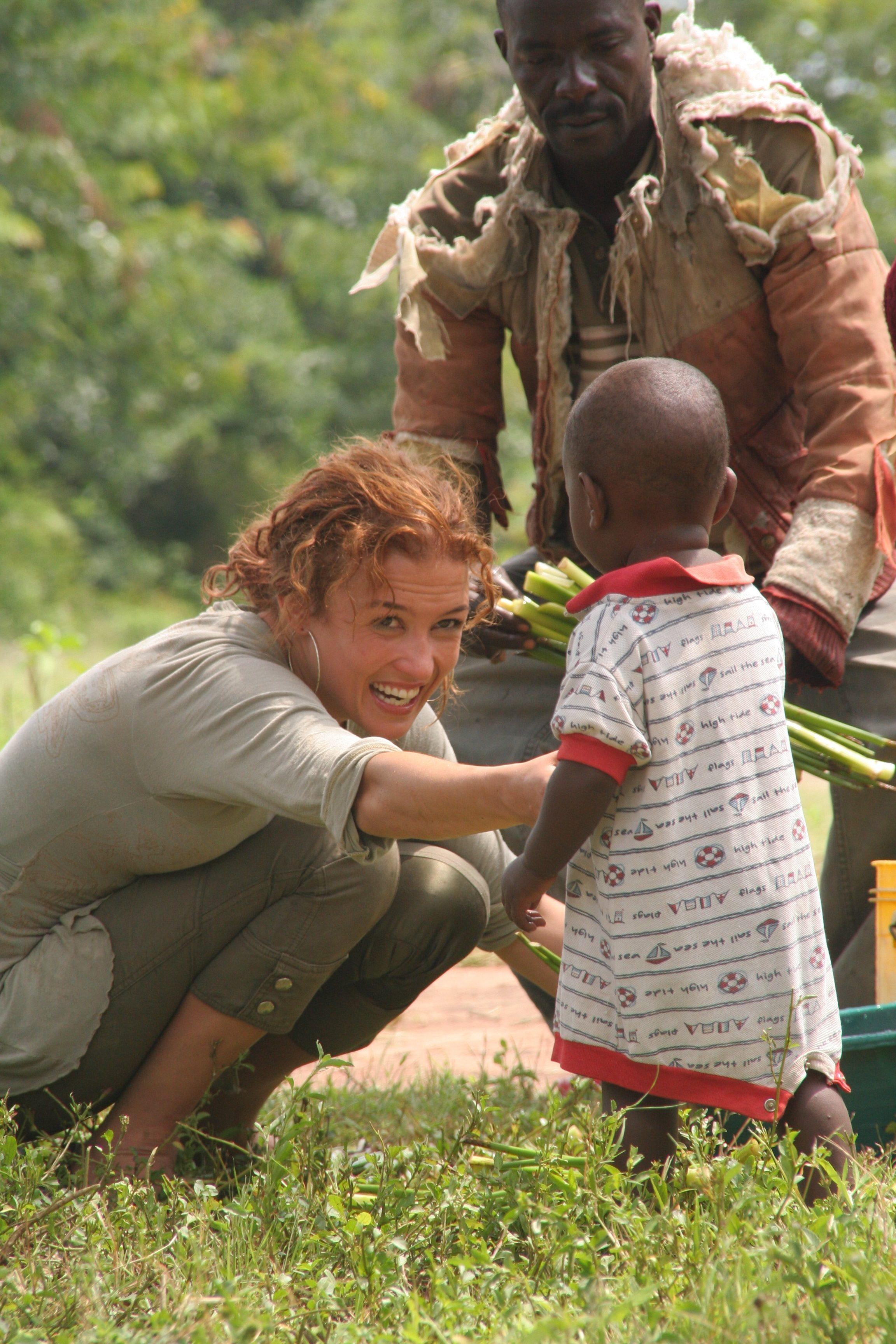 Katja Schuurman ontvangt CosmoQueen Award 2011